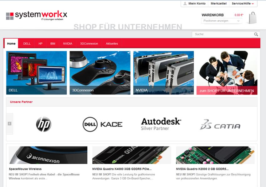 systemworkx Webshop